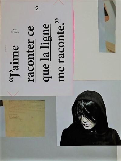 Heidi Fenzl-Schwab. Collage, Papier, 2017
